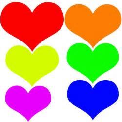 what do different color hearts patrones de corazones para hacer stenciles el de
