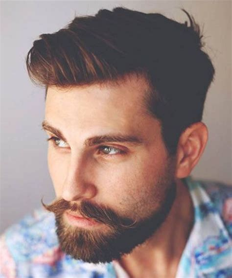 hairstyles with beard and moustache 25 best handlebar mustache styles to look sharp 2018