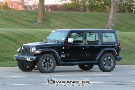 overland jeep wrangler unlimited rubicon sahara sport and overland jl wranglers spotted