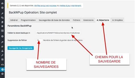 sauvegarder wordpress avec backwpup comment sauvegarder enti 232 rement son site wordpress avec l