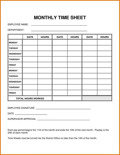 monthly time card template monthly time card template 28 images customized to