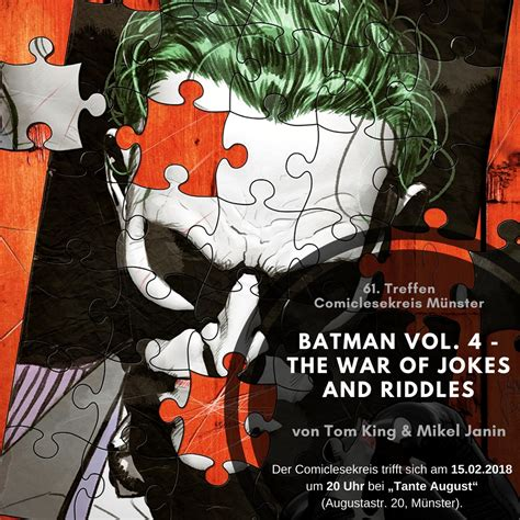 comiclesekreis batman vol 4 the war of jokes and