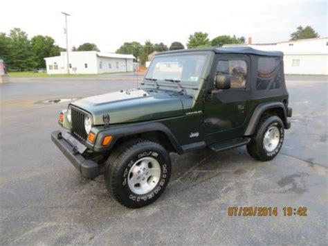 1997 Jeep Wrangler Sport Sell Used 1997 Jeep Wrangler Se Sport Utility 2 Door 2 5l