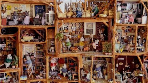 mouse doll house miniature mouse doll house scene miniatures one twelve