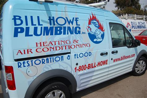 Bill Howe Plumbing San Diego by Bill Howe Reduces Carbon Footprint New Vehicles