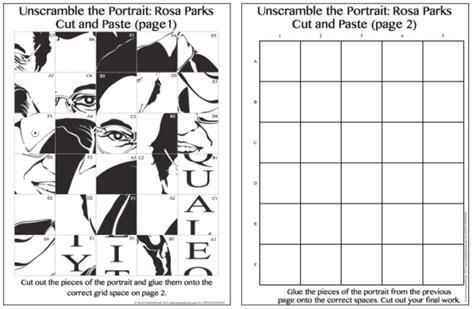 printable math art projects pop art rosa parks