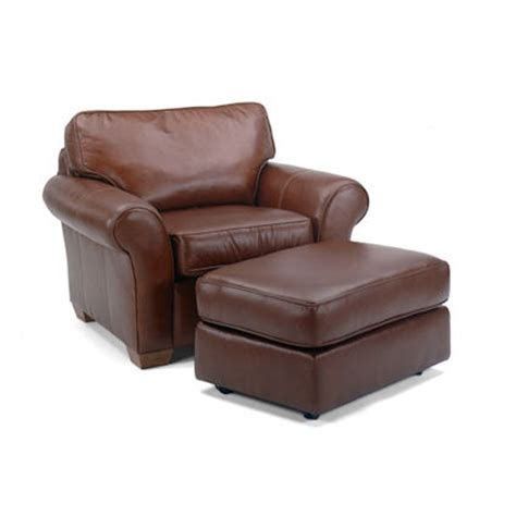 flexsteel vail sofa flexsteel 3305 10 08 vail chair and ottoman discount furniture at hickory park furniture galleries