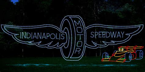 lee speedway christmas lights lights at the brickyard coming in 2016 to ims