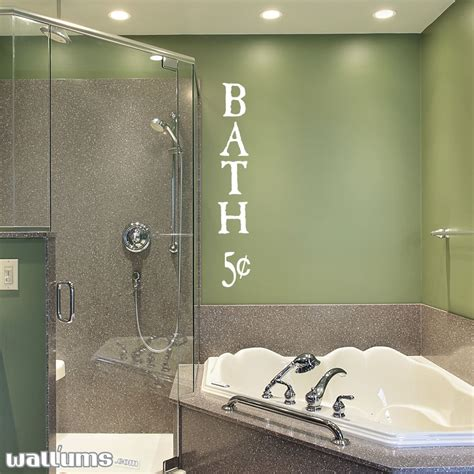 wall clings for bathroom shower bathroom wall decals quotes quotesgram