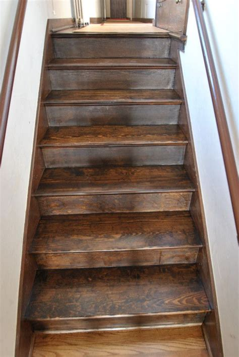 hardwood stairs pictures 25 best ideas about dark walnut stain on pinterest
