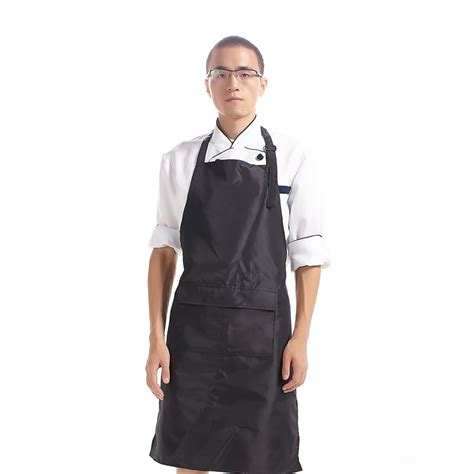 Chef Aprons High Quality Pvc Waterproof Aprons Adjustable Sleeveless
