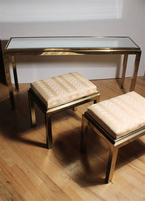 sofa table with stools sofa table with stools brass console sofa table with