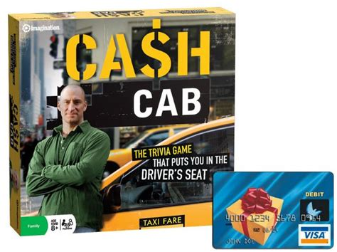 Cab Gift Cards - cash cab game show 50 visa gift card giveaway the night owl mama