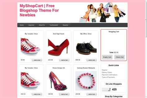 tutorial kedai online shopping cart my tutorial integrasi themes blogger kedai