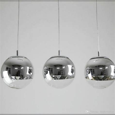 Chrome Kitchen Island Silver Ball Pendant Light Tequestadrum Com