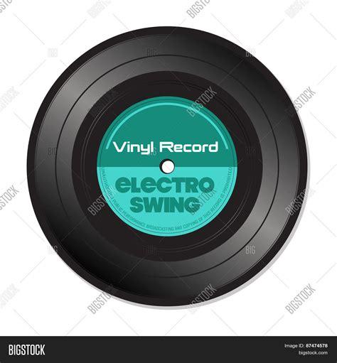 Electro Swing Vinyl Record Stock Vector Stock Photos