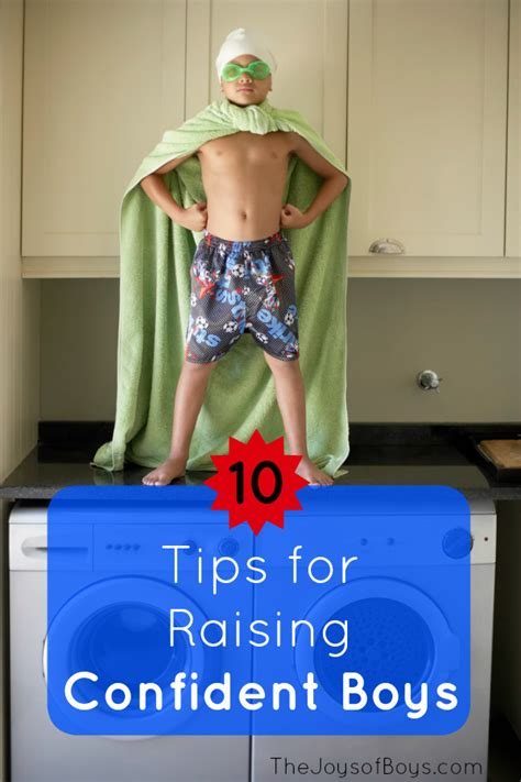 10 Tips For Boys by 10 Tips For Raising Confident Boys