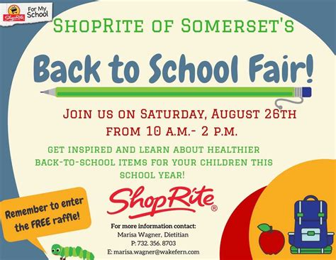 school fair shoprite  somerset