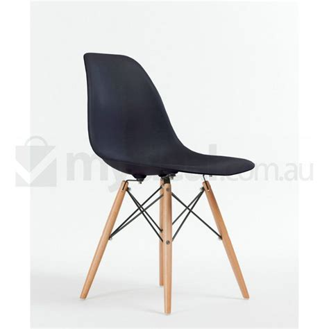 8 pack replica eames eiffel dsw dining chair black buy