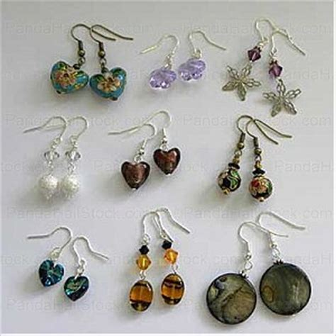 How To Make Easy Paper Earrings At Home - how to make earrings at home beading a pair of lovely