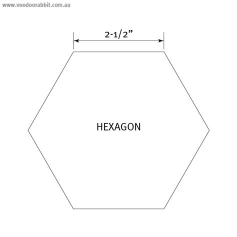 4 inch hexagon template best photos of pattern hexagon template 1 2 inch 1 4