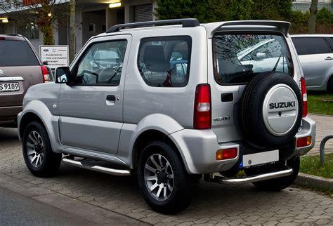 Jimmy Auto by File Suzuki Jimny 1 3 Club 2 Facelift Heckansicht 21