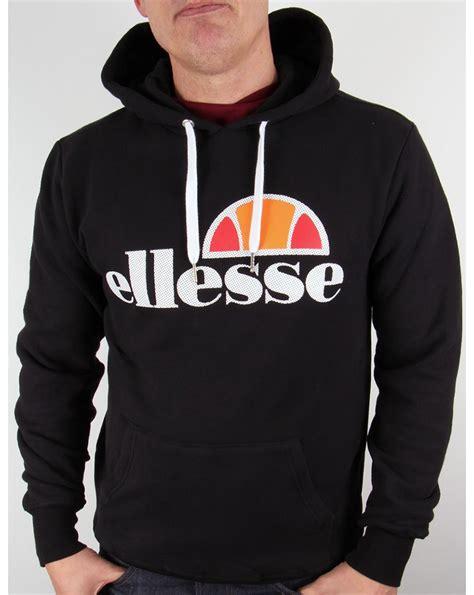 Hoodie Sweater Vespa Front Logo ellesse logo hoodie black hooded top