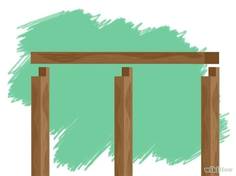 How To Add A Lean To On A Shed by 6 Ways To Add A Lean To Onto A Shed Wikihow