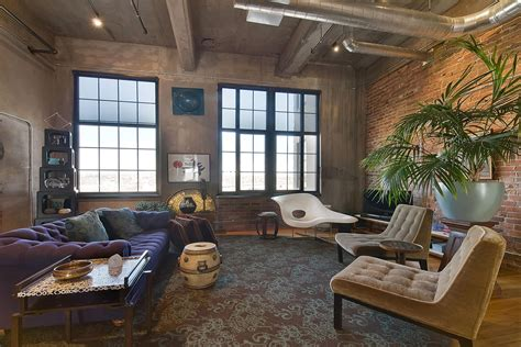 living room denver stylish flour mill loft in denver idesignarch interior