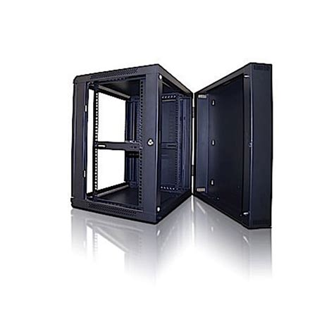 swing out rack crimson rc12u swing out wall mounted 12u rack enclosure