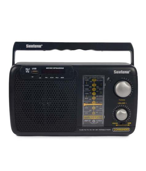 best radio players buy seetone mdl01 fm radio player at best price in