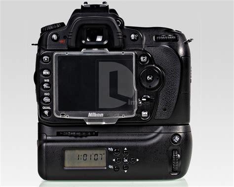 Mk D80l Lcd Battery Grip For Nikon D80 D90 Free 1 Batre battery grip meike mk d80 d90l lcd