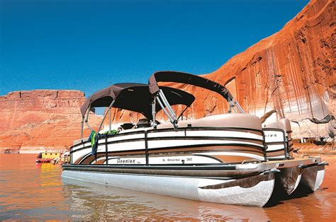 deck boat lake powell pdb adventures only on lake powell pontoon deck boat