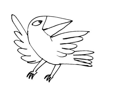 raven bird coloring coloring pages