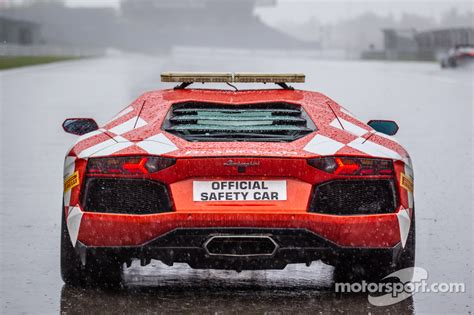 Lamborghini Safety Lamborghini Aventador Safety Car At N 252 Rburgring