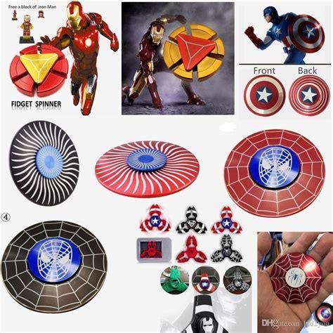 Spinner Fidget Toys Marvel Captain America 2 metal fidget spinner marvel s the alloy