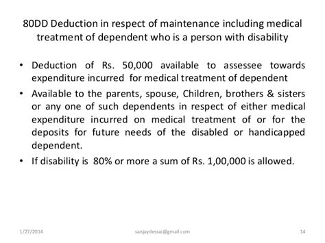 deduction under section 35 of income tax act deductions from gross total income under section 80c to 80