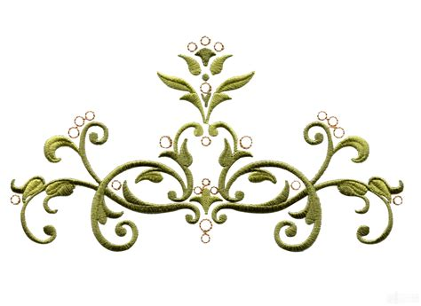 baroque designs bsb110 baroque swirl 10 embroidery design
