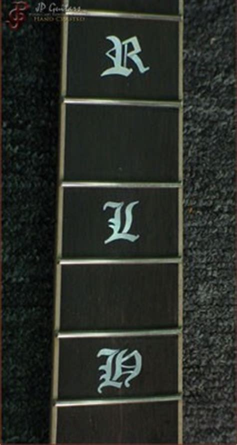 inlaid wood letters