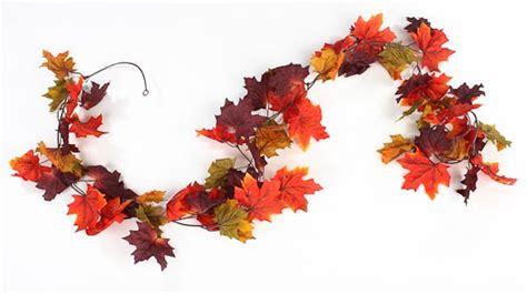 autumn lights picture autumn leaf garland