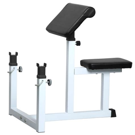 weight bench with arm curl arm curl weight bench adjustable commercial preacher