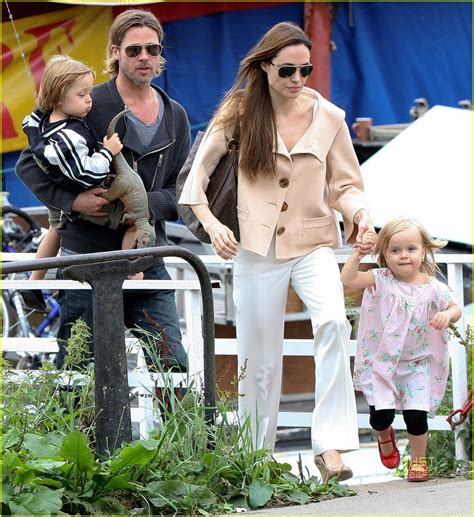 Brangelina Happily Welcomes Vivienne Marcheline by Pitt Circus Of The Page 4