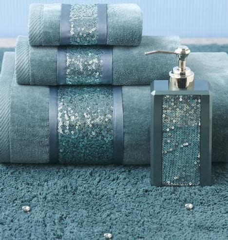 bling bathroom set add some bling to your bathroom decor annaslinens