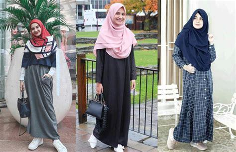 tutorial hijab syar i tapi tetap modis gaya berhijab syar i tetap modis intip gaya wanita