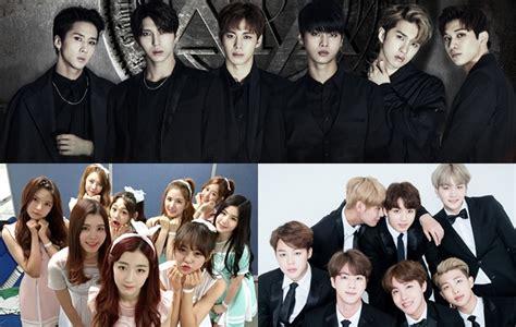 Kaos Produce 101 Kpop Korea gabung bts vixx cs gu9udan bakal til di konser mbc