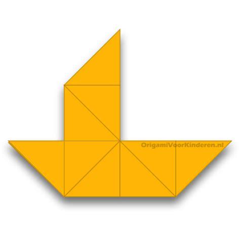 Origami Boot - boot 3 makkelijk origami voor kinderen