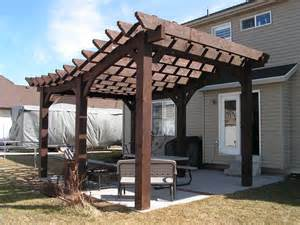 Curved Pergolas by Curved Pergola Pictures To Pin On Pinterest