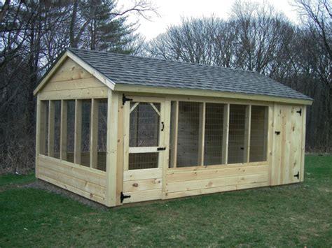 Backyard Kennel by Outdoor Wooden Backyard Pet Kennel Runs