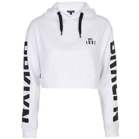 New York Cropped Hoodie White M best 25 crop top hoodie ideas on hoody