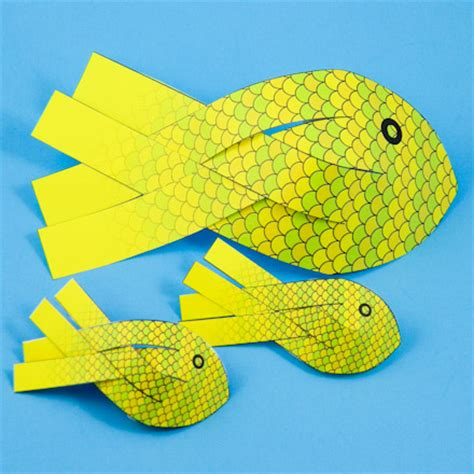 3d fish template gallery templates design ideas